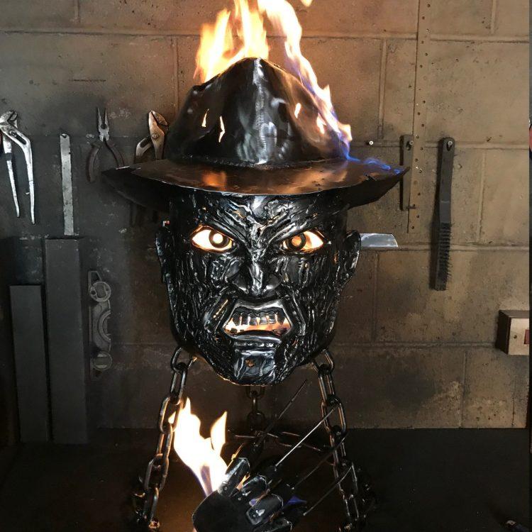 Freddy Krueger Fire Pit Fire