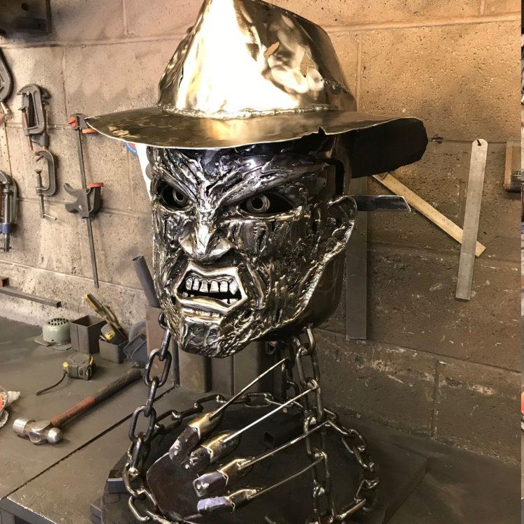 Freddy Krueger Fire Pit Garage