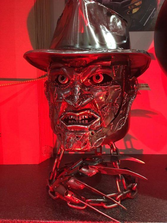 Freddy Krueger Fire Pit Red Light