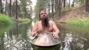Handpan in River