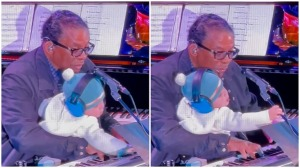 Herbie Hancock and Grandson Sing Happy Birthday Gigi