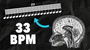 How the Brain Processes Extreme Rhythms