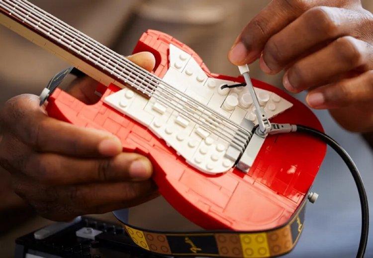 LEGO Fender Strat Whammy Bar