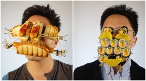 Masks Made Out of Food