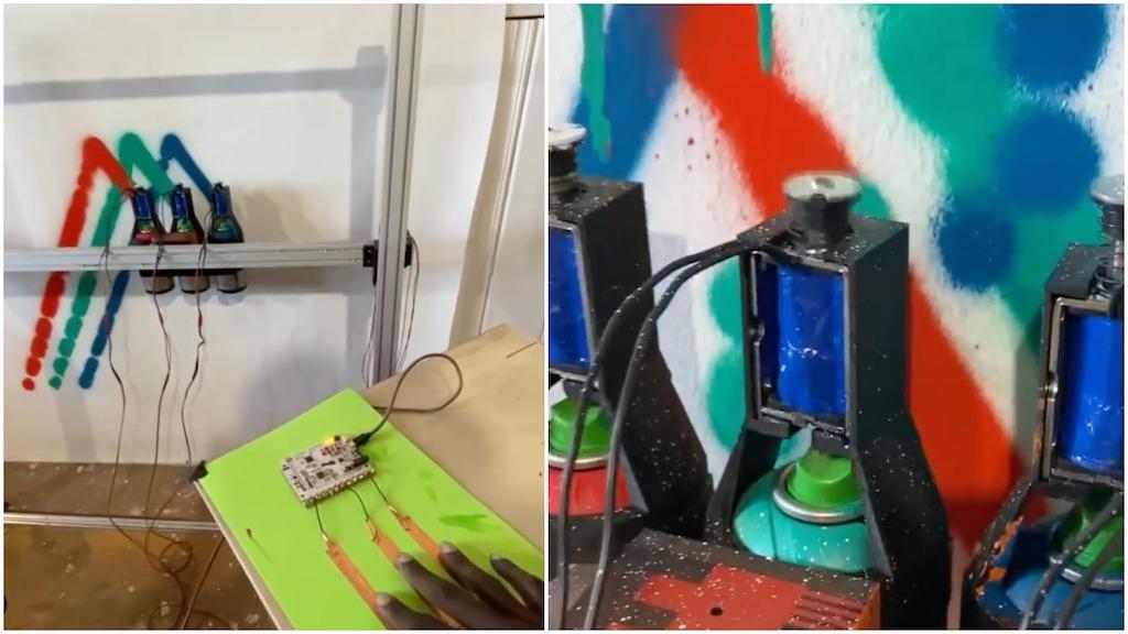 Remote Spraypaint