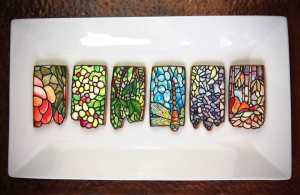 Stained Glass Lampshade Cookies