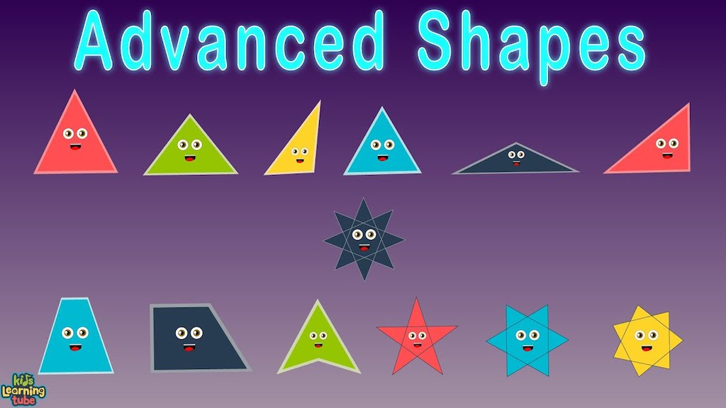 Advanced Shapes Kids Song