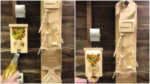 Bottle Opener Rube Goldberg Machine Skittles