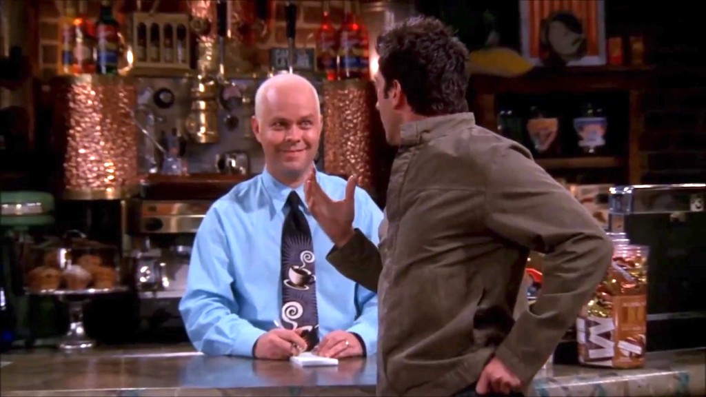 A Compilation of 'Gunther' Scenes From 'Friends' - laughing squid
