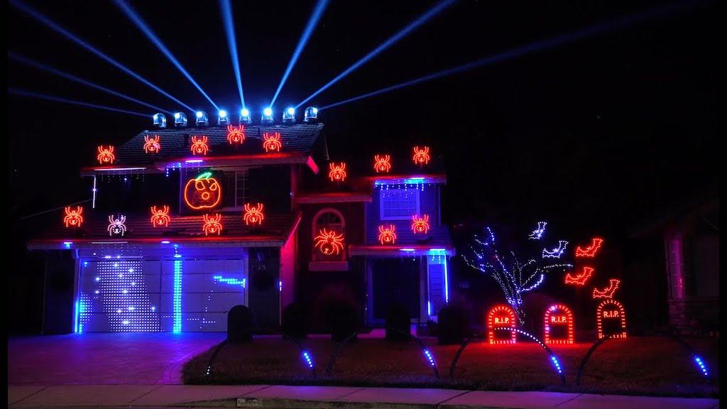 Halloween Light Show Smells Like Teen Spirit