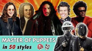 Master of Puppets in 50 Different Musical Styles