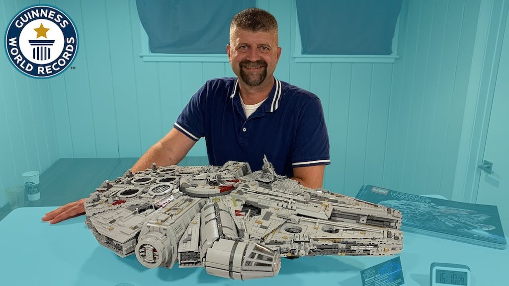 Paul Ufema Almost Fastest Build LEGO Millennium Falcon