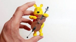 Quilling Winnie the Pooh