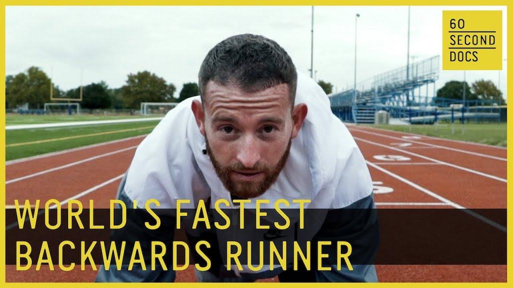 Worlds Fastest Backwards Runner