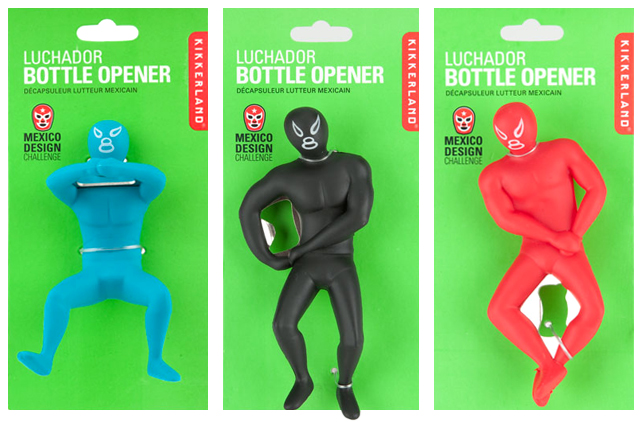 Mexican wrestling luchador bottle openers - Mexican wrestler bottle opener ...