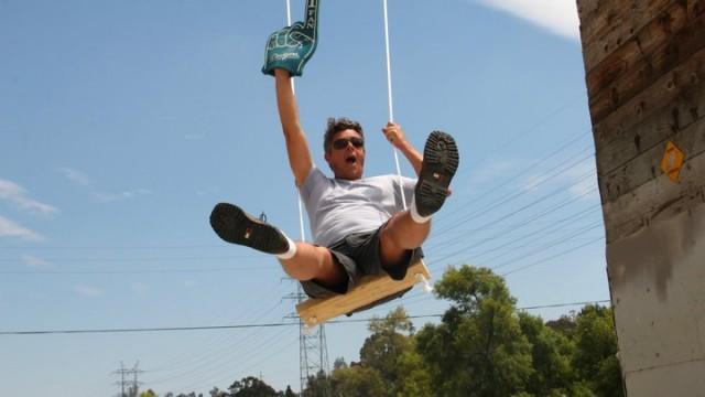 Guerilla Swings by Jeff Waldman