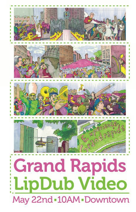 The Grand Rapids Lipdub