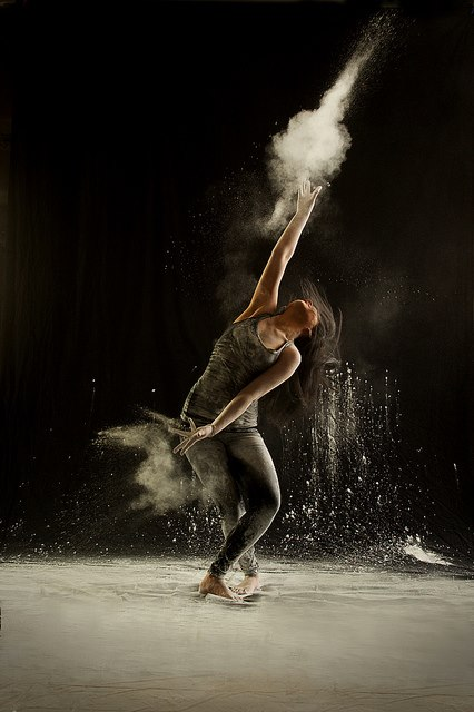 Powder Dance by Geraldine Lamanna