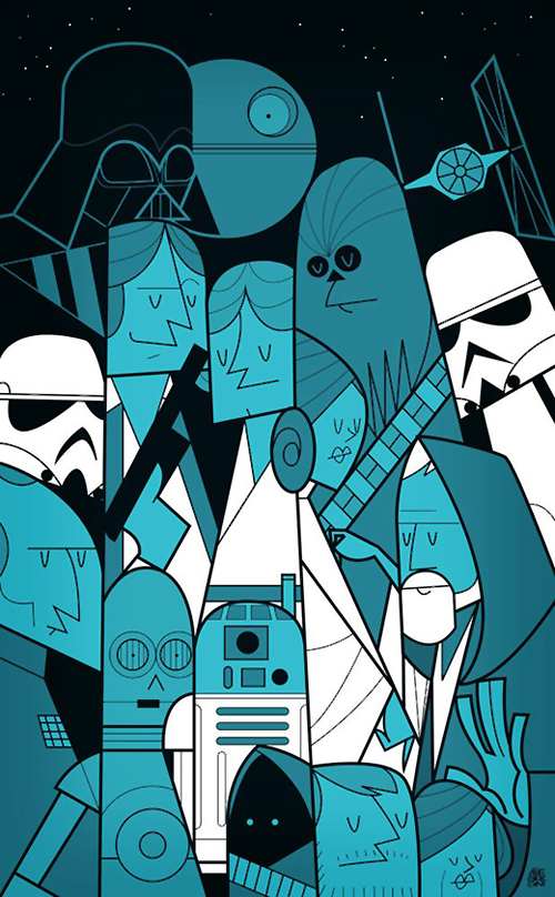 Star Wars by Ale Giorgini