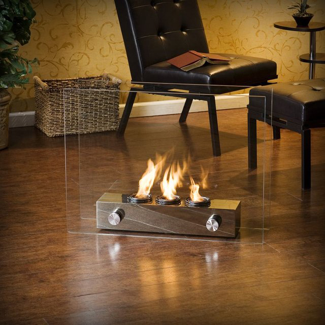portable indoor outdoor gel fireplace rh laughingsquid com  southern enterprises portable indoor outdoor fireplace