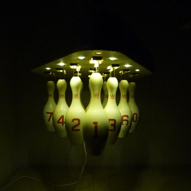 Bowling Pin Lamp