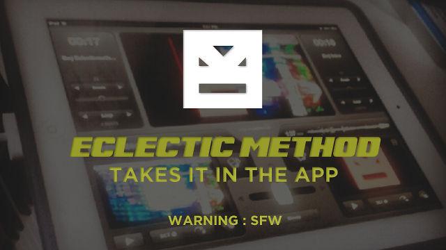 Eclectic Method Demos VJay Video Mashup App for iPad