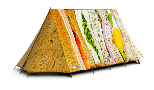 Picnic Perfect  sc 1 st  Laughing Squid & Camping Tents That Look Like Real Food