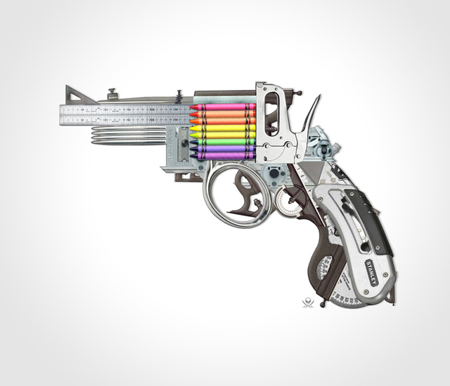 Creative Gun by Mark Fitz