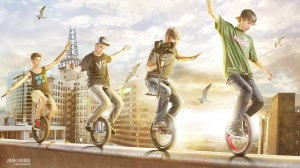 Unicycle Freestyle by Devin Graham