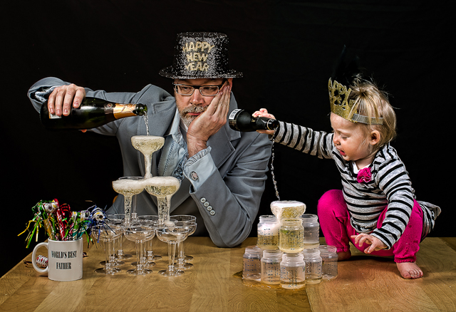 Happy New Year - World's Best Father by Dave Engledow