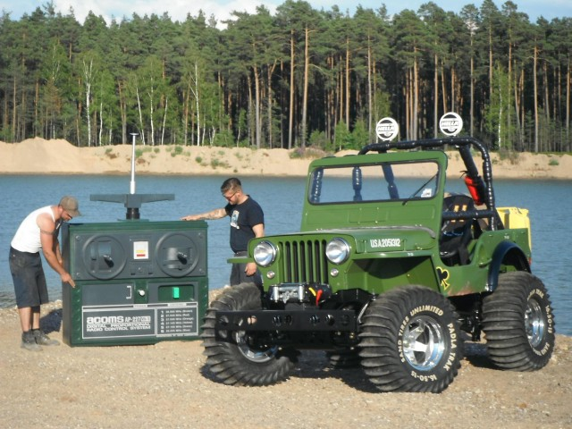Full Scale Replica of Tamiya Wild Willy Jeep
