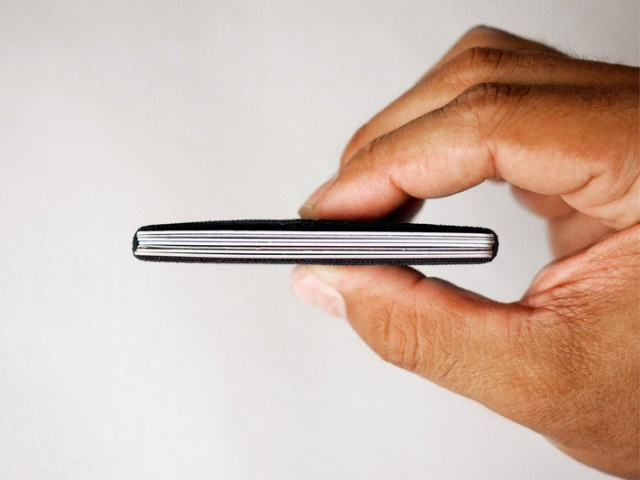 Slim ultra thin wallet