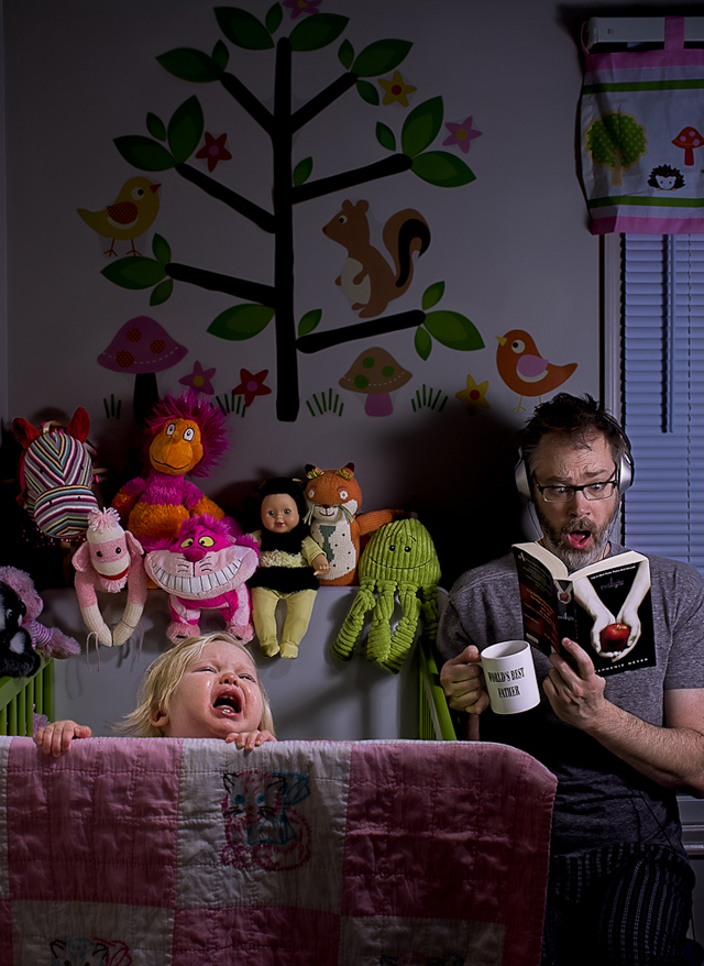 Bedtime Routine - World's Best Father by Dave Engledow