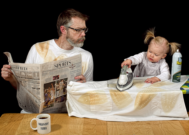 Pressing Matters - World's Best Father by Dave Engledow