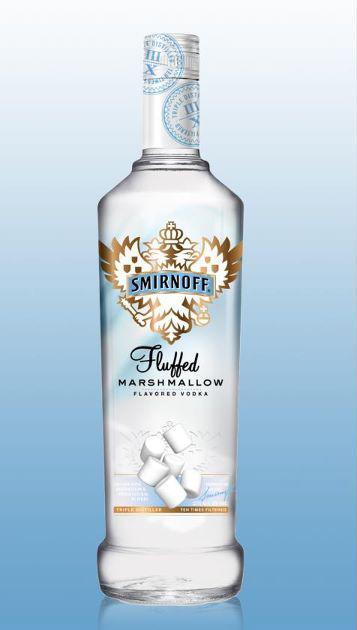 Smirnoff Fluffed Marshmallow flavored vodka