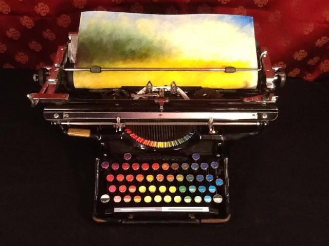 Chromatic Typewriter by Tyree Callahan