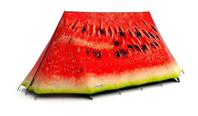 Camping Tents That Look Like Real Food