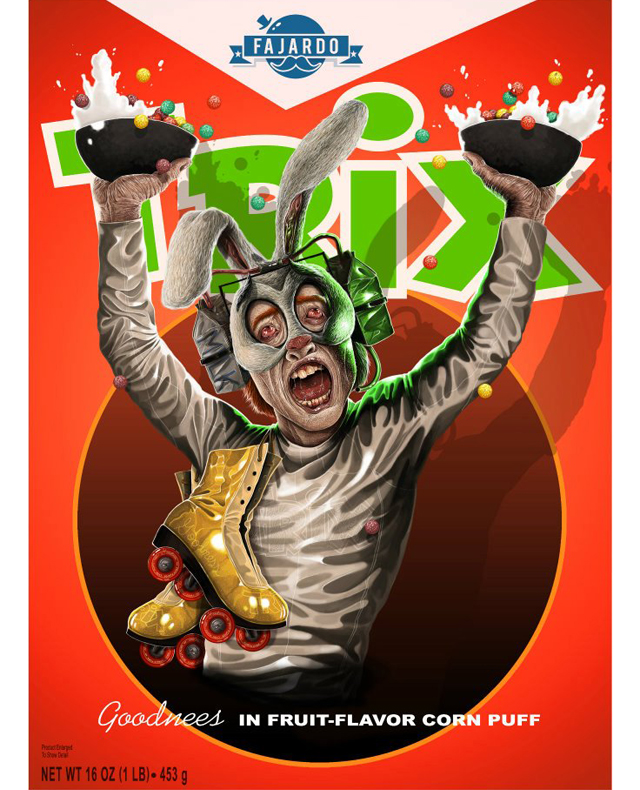 Breakfast Time! - Cereal series (Trix) by Guillermo Fajardo