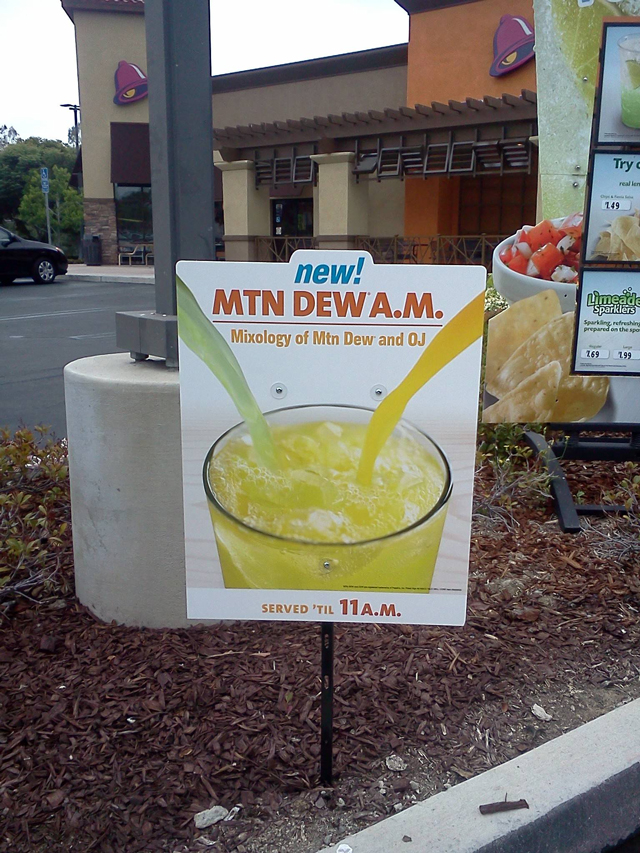 Mtn Dew A.M.