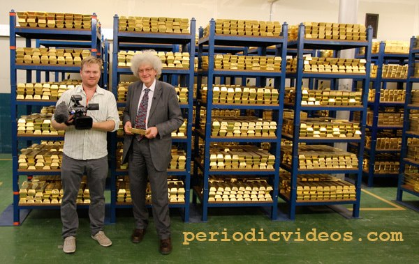 Inside the Bank of England's Gold Bullion Vault