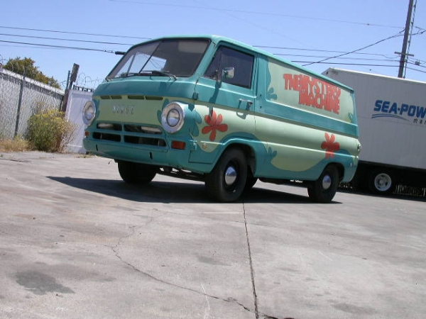Poland Machinery Dealers Doo Mail: Scooby-Doo Mystery Machine-Themed Van For Sale In California