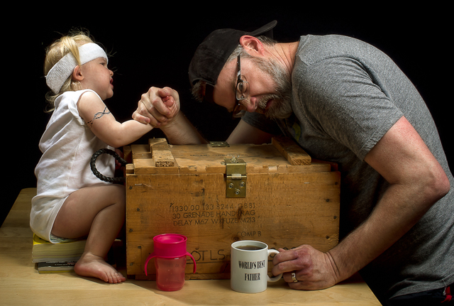Over The Top - World's Best Father by Dave Engledow