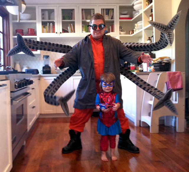 Patton Oswalts Doctor Octopus Costume Made By Adam Savage