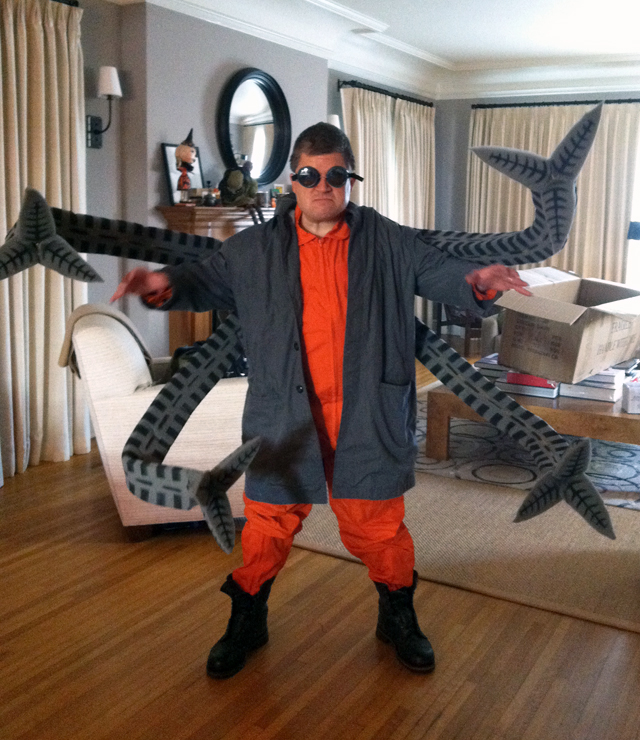 Patton Oswalt's Doctor Octopus Costume Made by Adam Savage