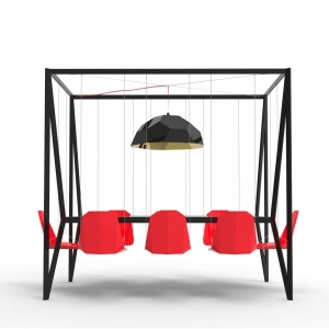 Swing Table by Duffy London