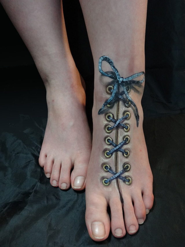Laced Foot