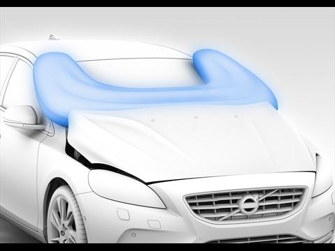 Volvo Pedestrian Airbag