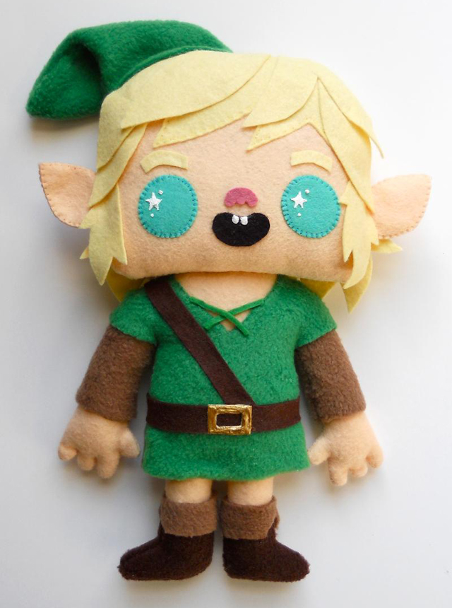 Link Plush by Michelle Coffee