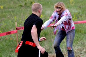 Run For Your Lives, A 5k Zombie apocalypse race