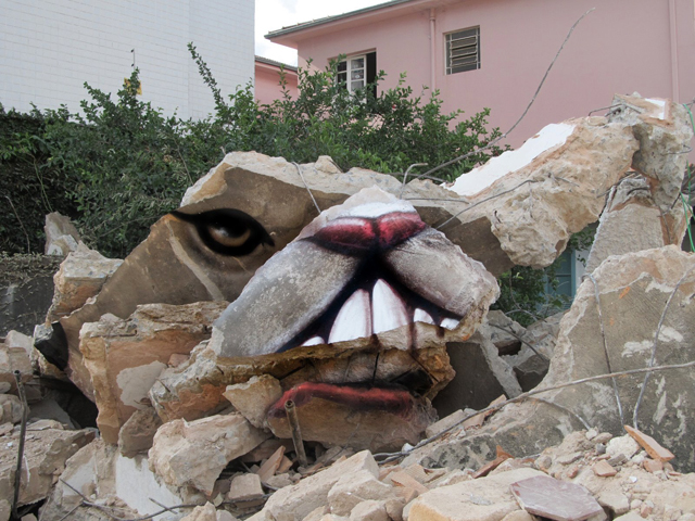 Untitled Street Art by André Muniz Gonzaga (Dalata)